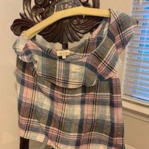 Cloth & Stone plaid shirt